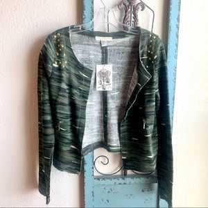 Love By Design Camo Cropped Jacket